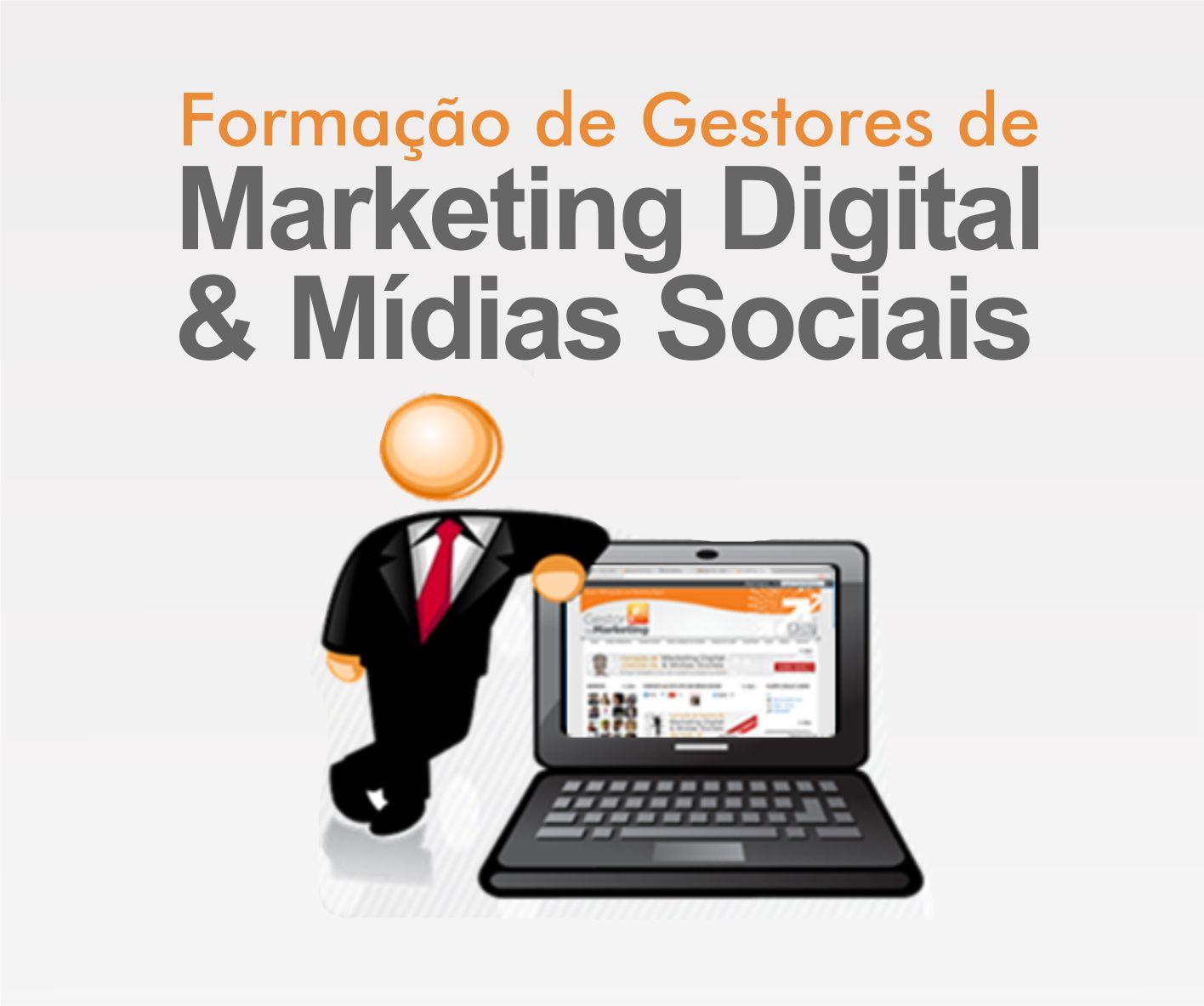 curso Formação de Gestores de Marketing Digital e Mídias sociais