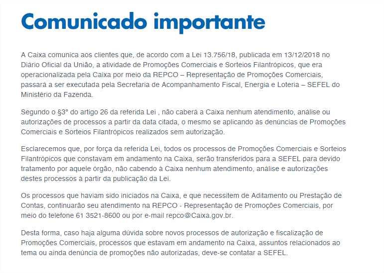Autorização para promoções comerciais passa a ser responsabilidade da SEFEL 1