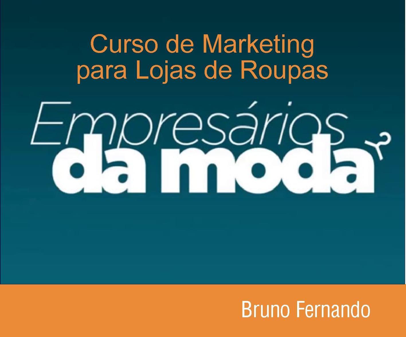 CURSO DE MARKETING PARA LOJAS DE ROUPAS